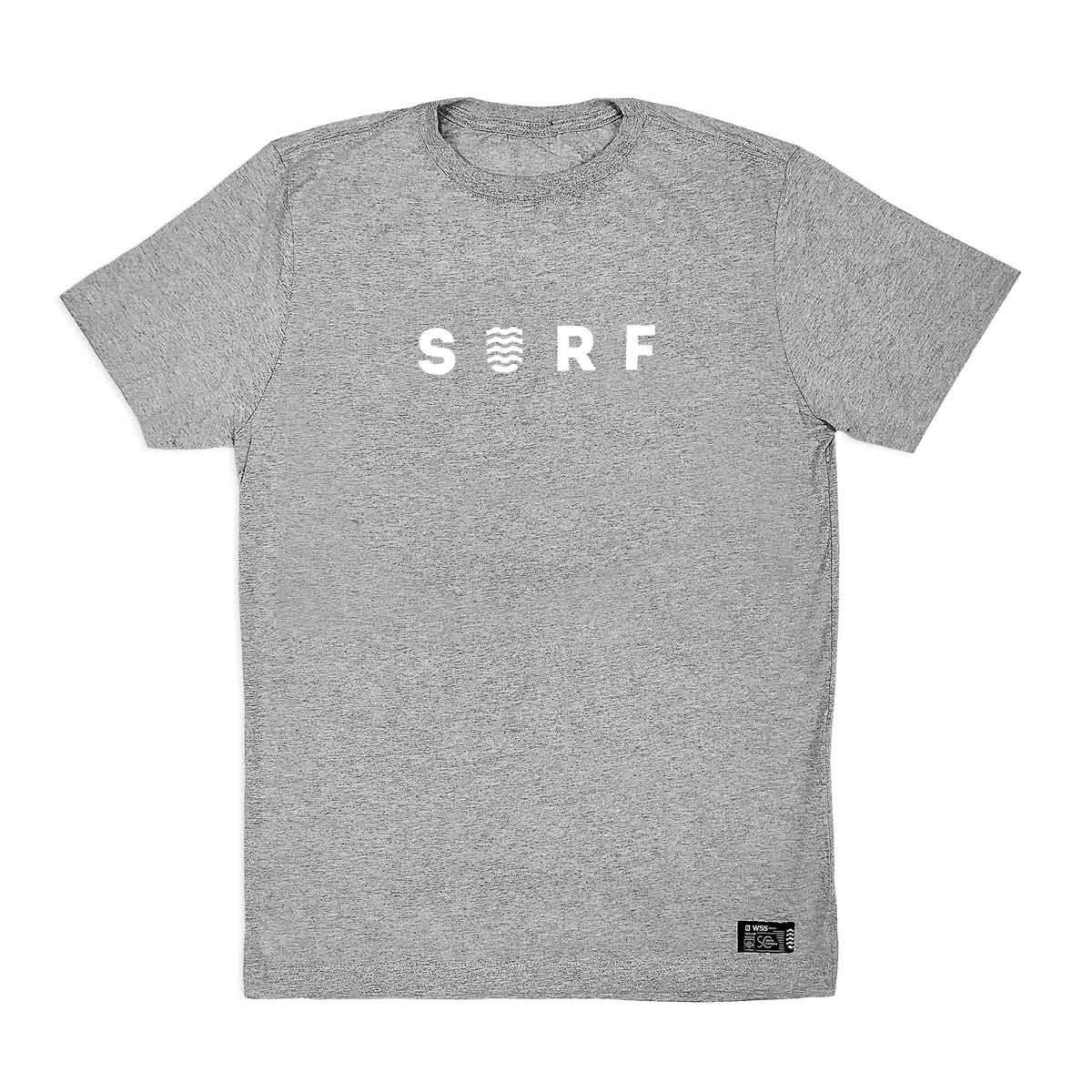 Camiseta WSS Brasil Surf Grey