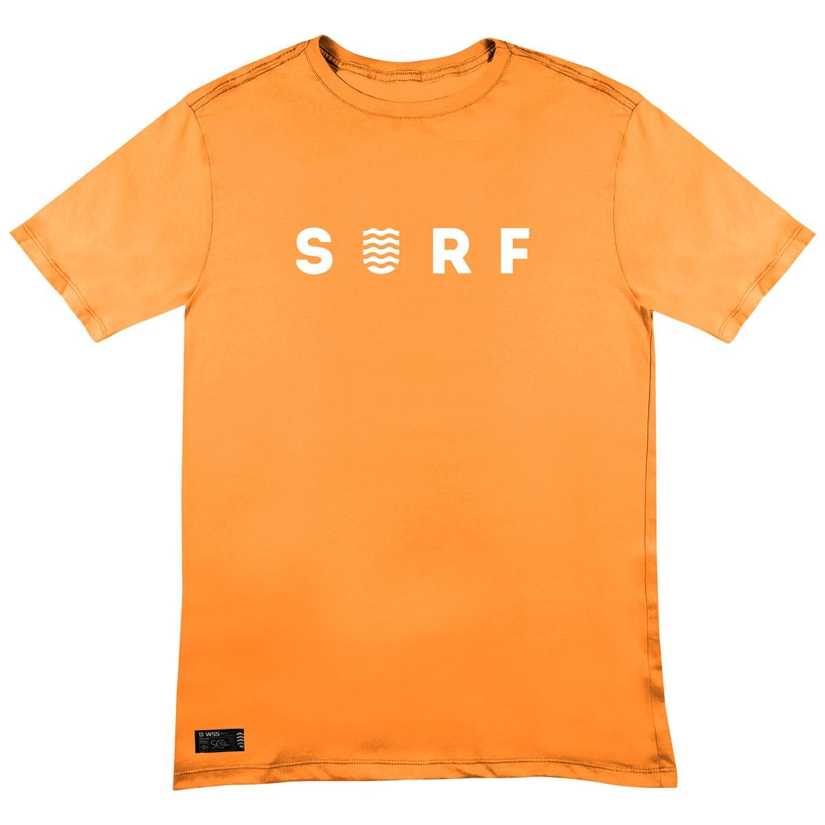 Camiseta WSS Brasil Surf Orange