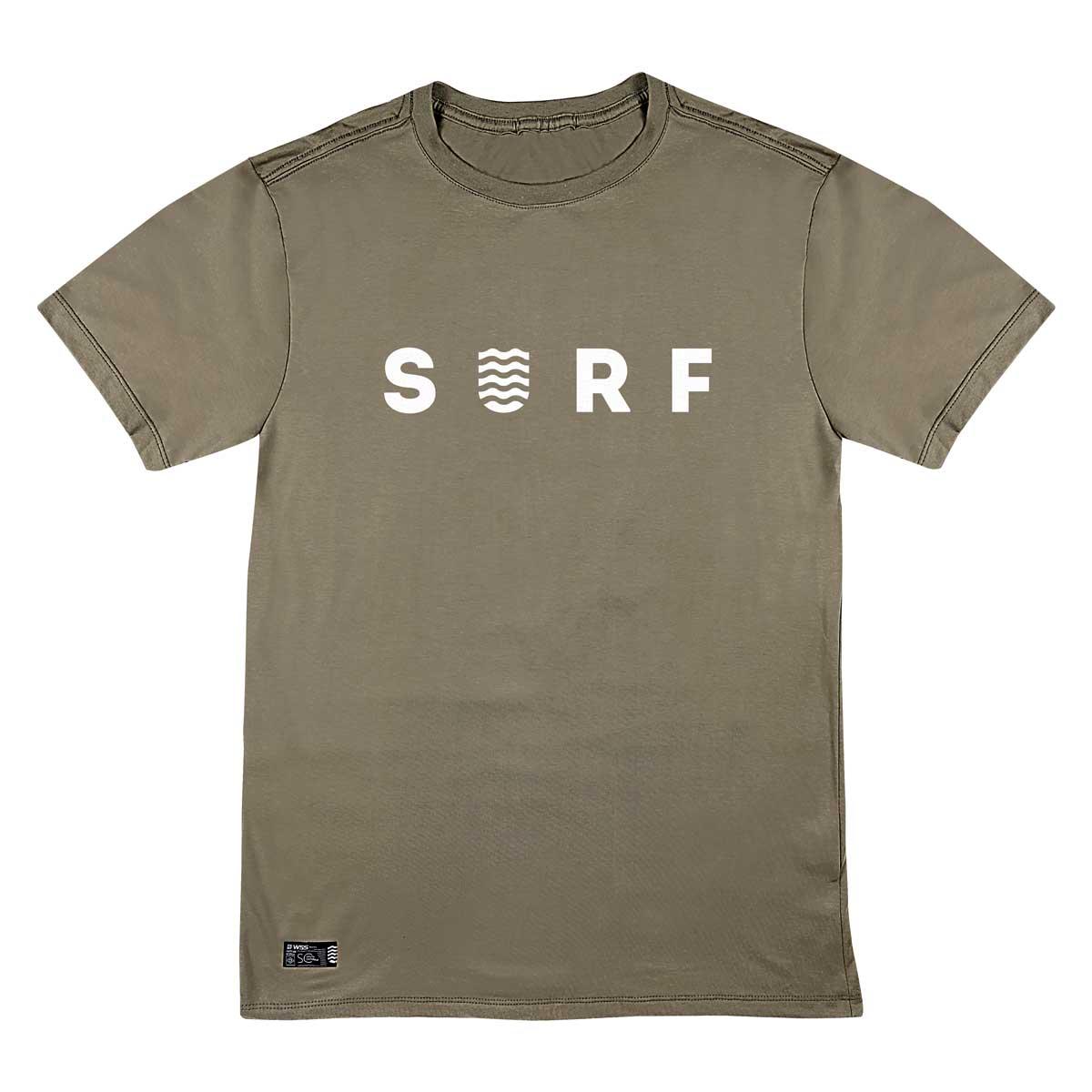 Camiseta WSS Brasil Surf Khaki