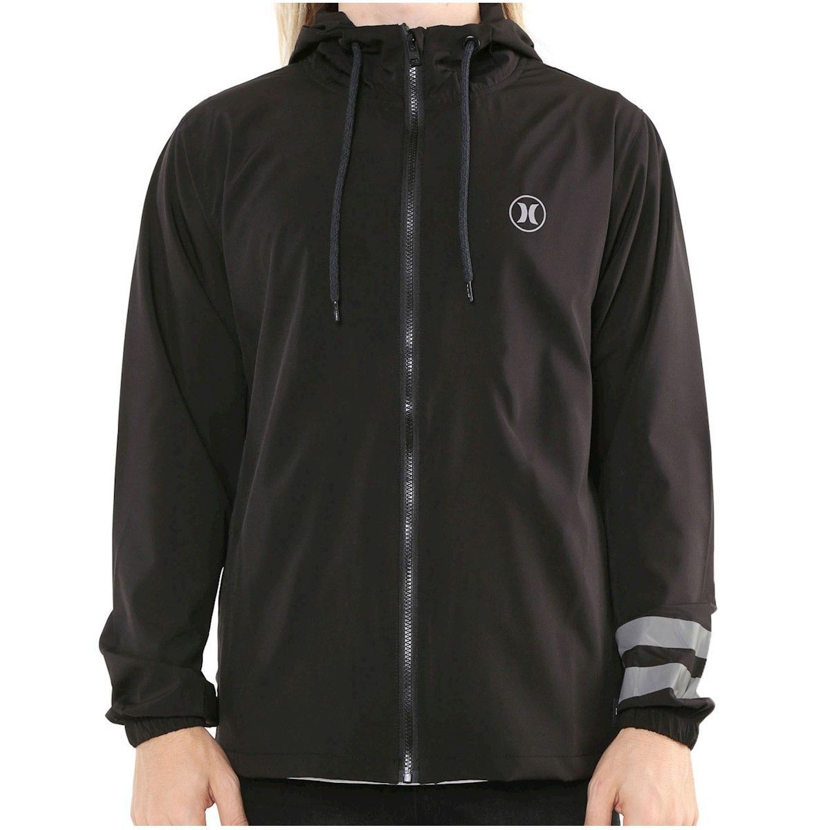 Jaqueta Corta Vento Hurley Windbreaker Block Party