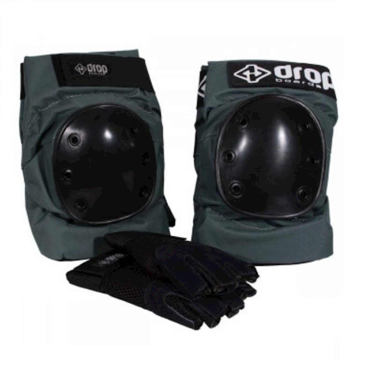 Kit Proteção DropBoards Carve Verde/preto