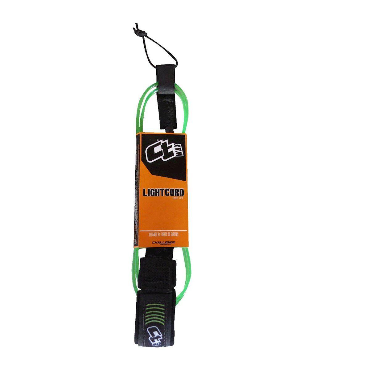 Leash Ct Wax Lightcord Comp 5'5 Pés Verde