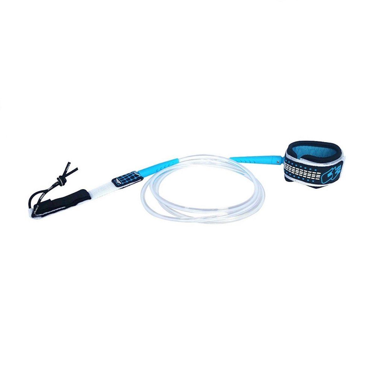 Leash Surf Ct Wax Comp Pro 6 Pés 6MM Blue