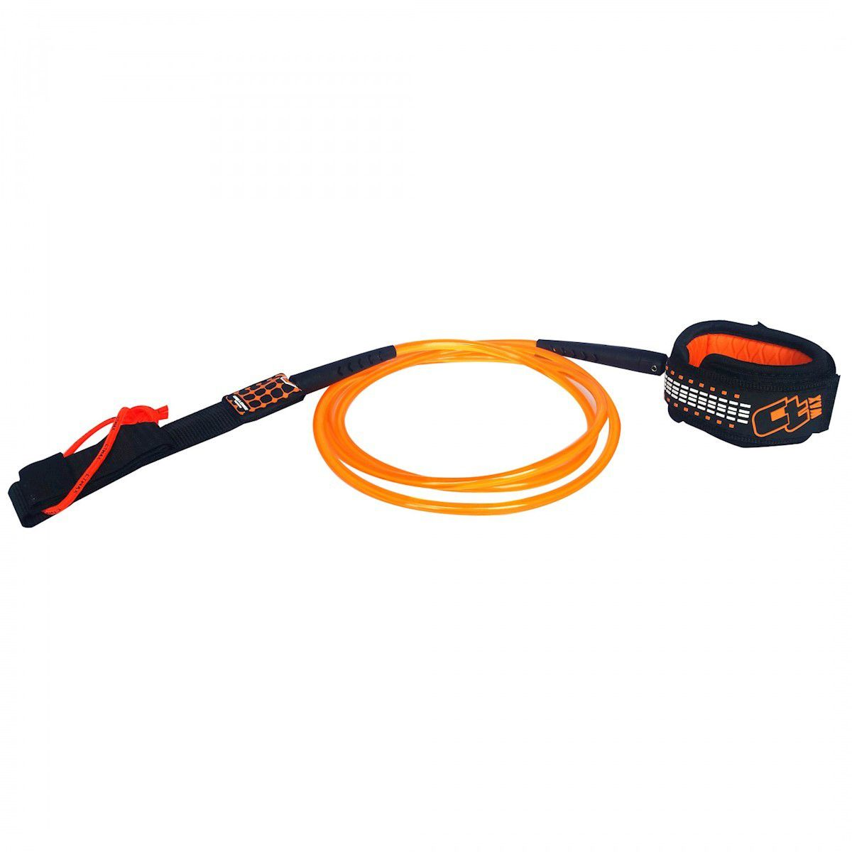 Leash Surf Ct Wax Regular 6 Pés 7MM Orange