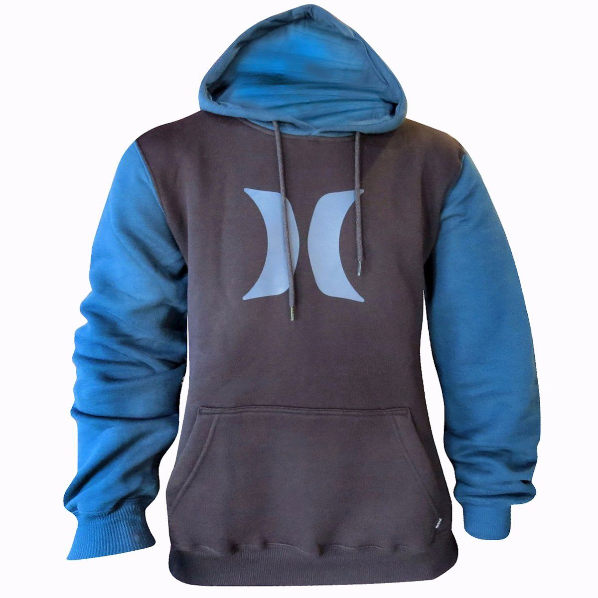 Moletom Hurley Fechado Simbol Azul