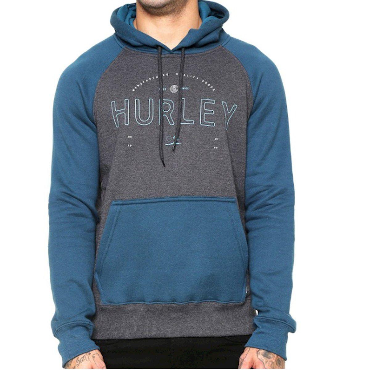 Moletom Hurley Layover Core Cinza