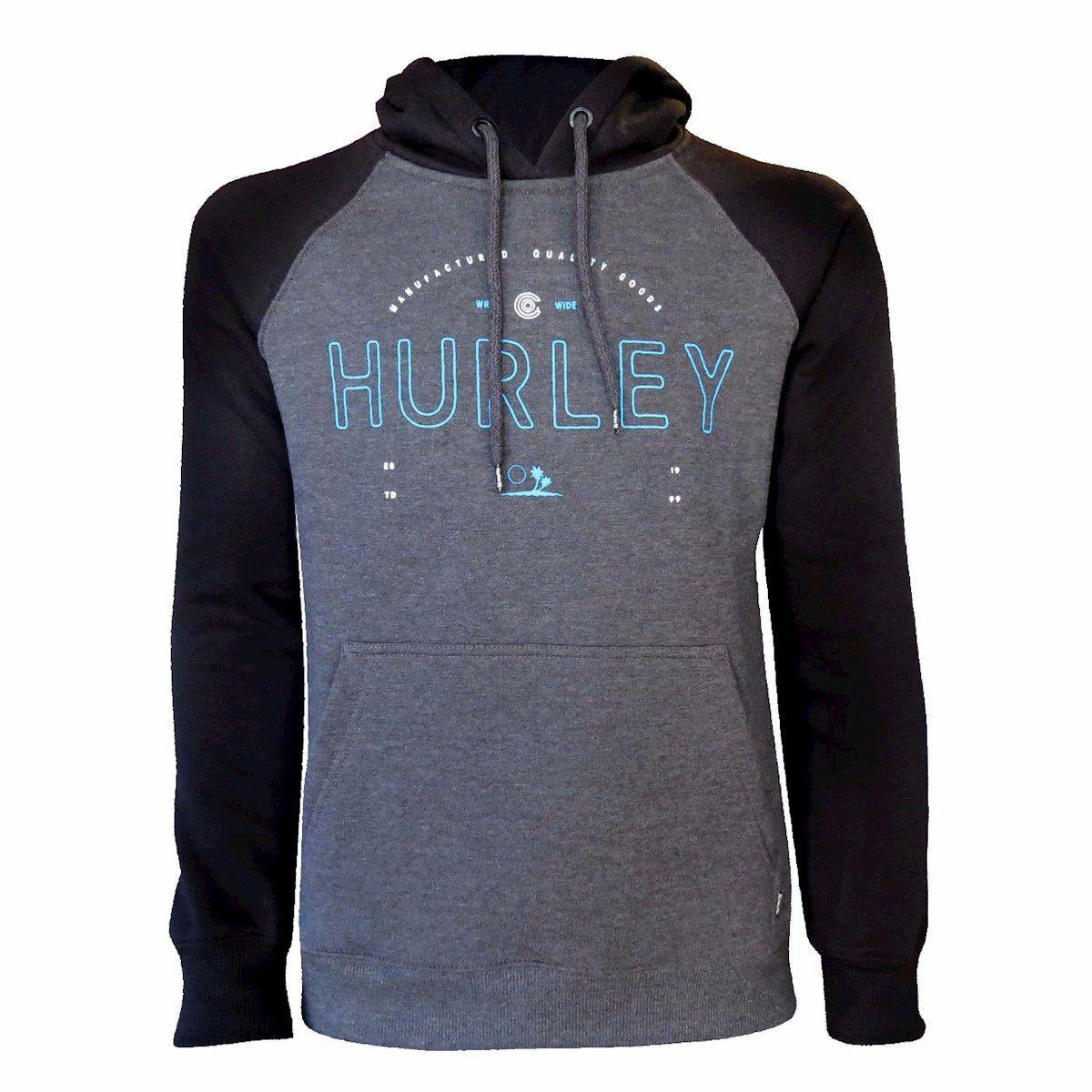 Moletom Hurley Layover Core Preto