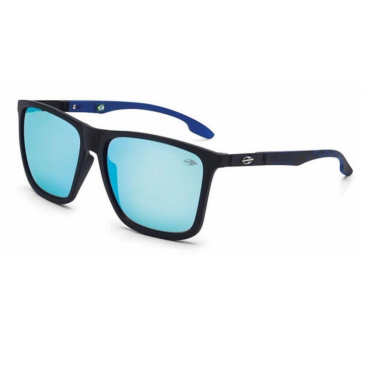 Óculos de Sol Hawaii Preto Fosco Mormaii