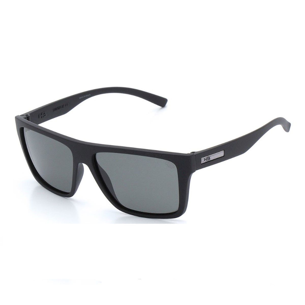 Óculos de Sol HB Floyd Matte Black Polarized