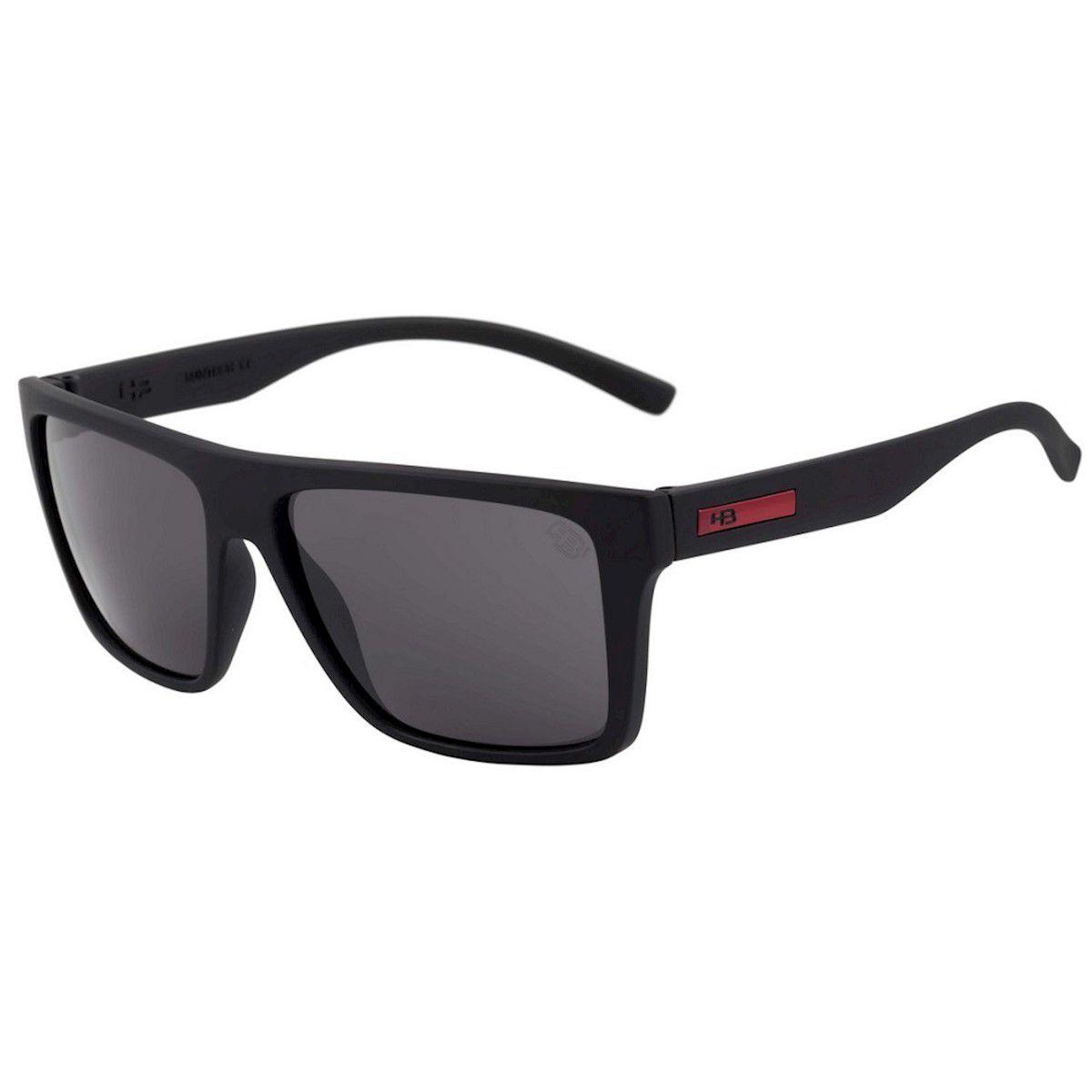 Óculos de Sol HB Floyd Matte Black Red