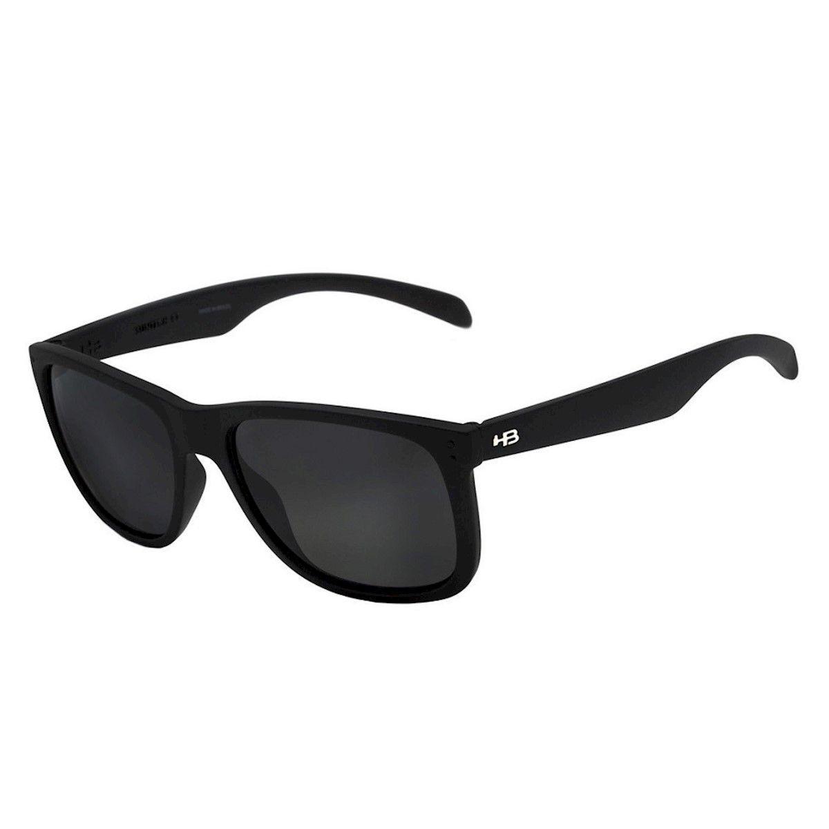 Óculos de sol HB Ozzie Matte Black Gray