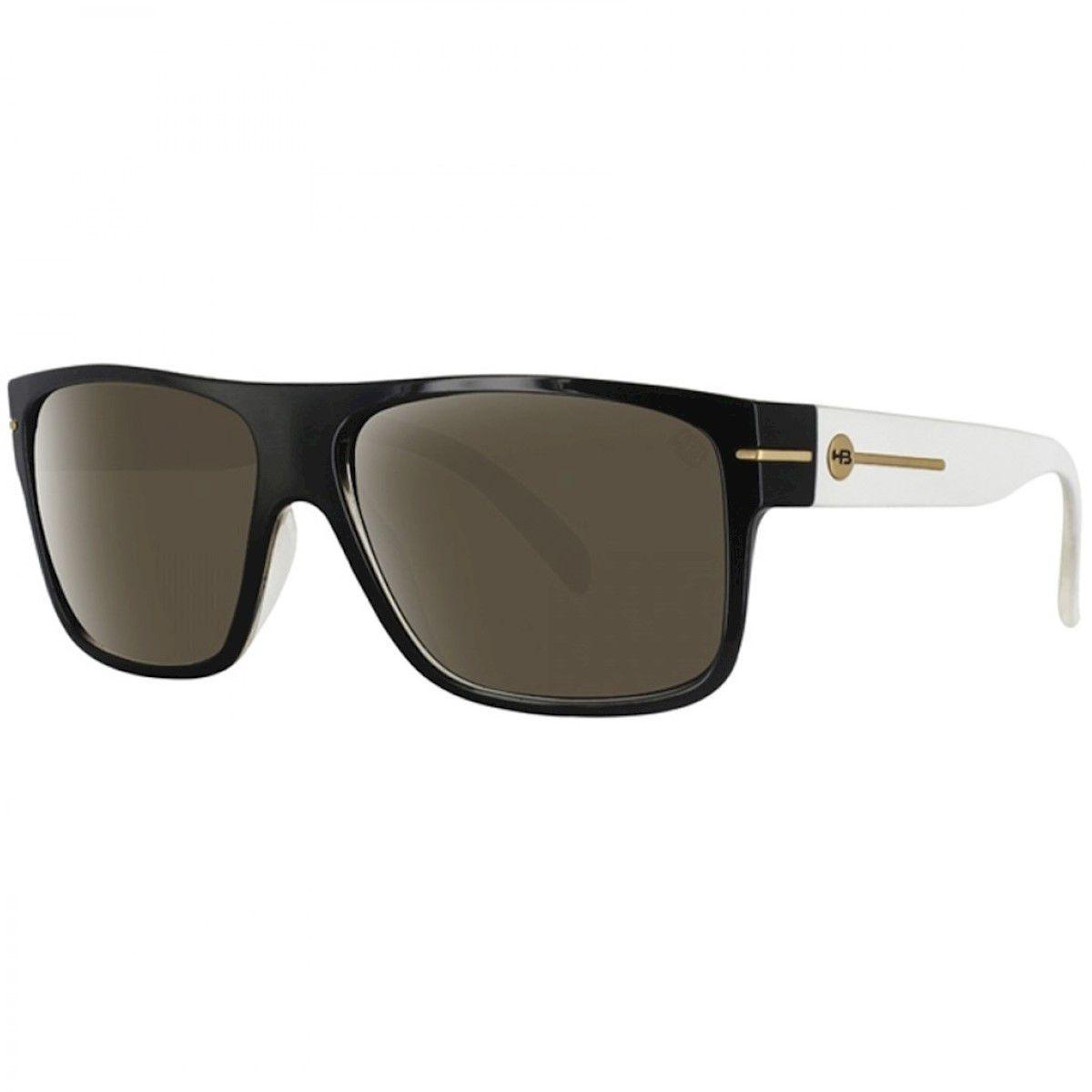 Óculos de Sol HB Would Black White/Brown