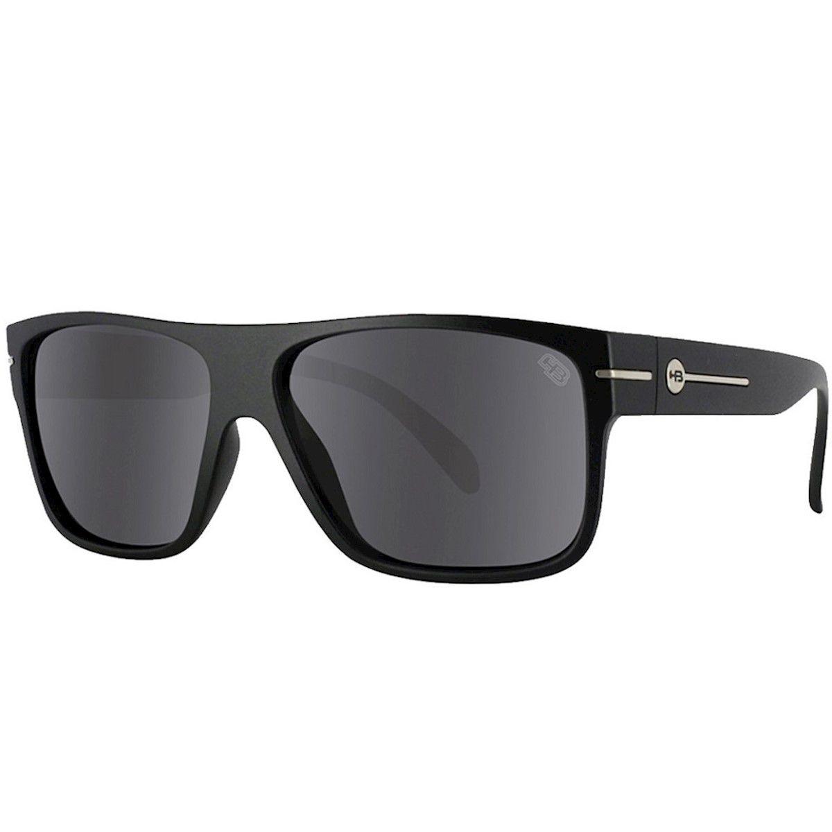 Óculos de Sol HB Would Matte Black Gray