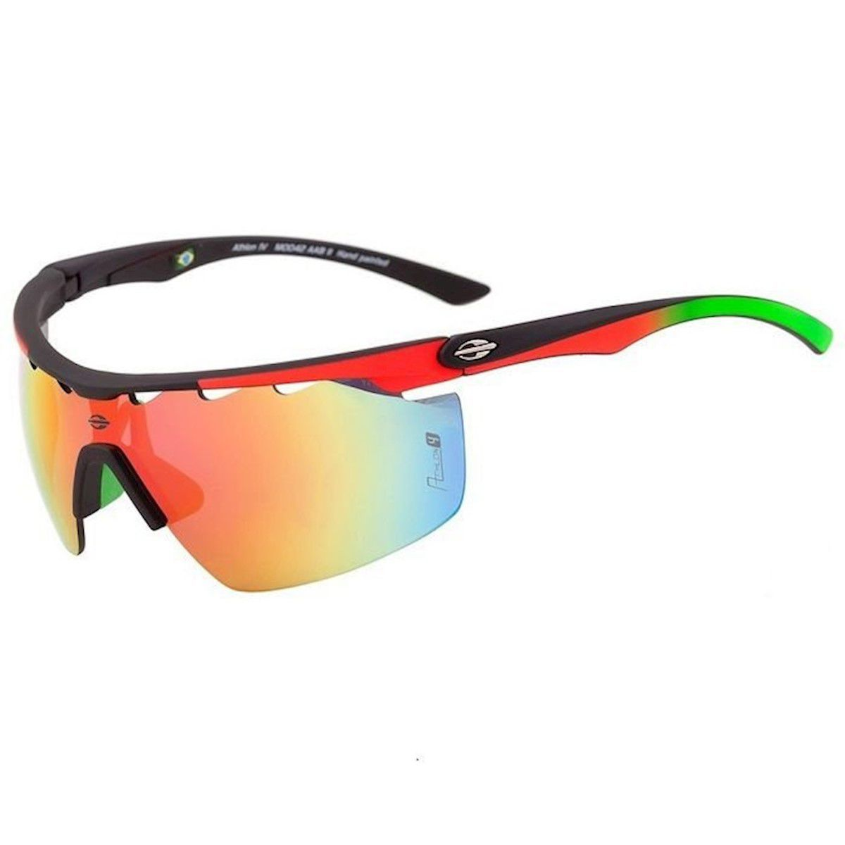 Óculos de sol Mormaii Athlon 4 Preto