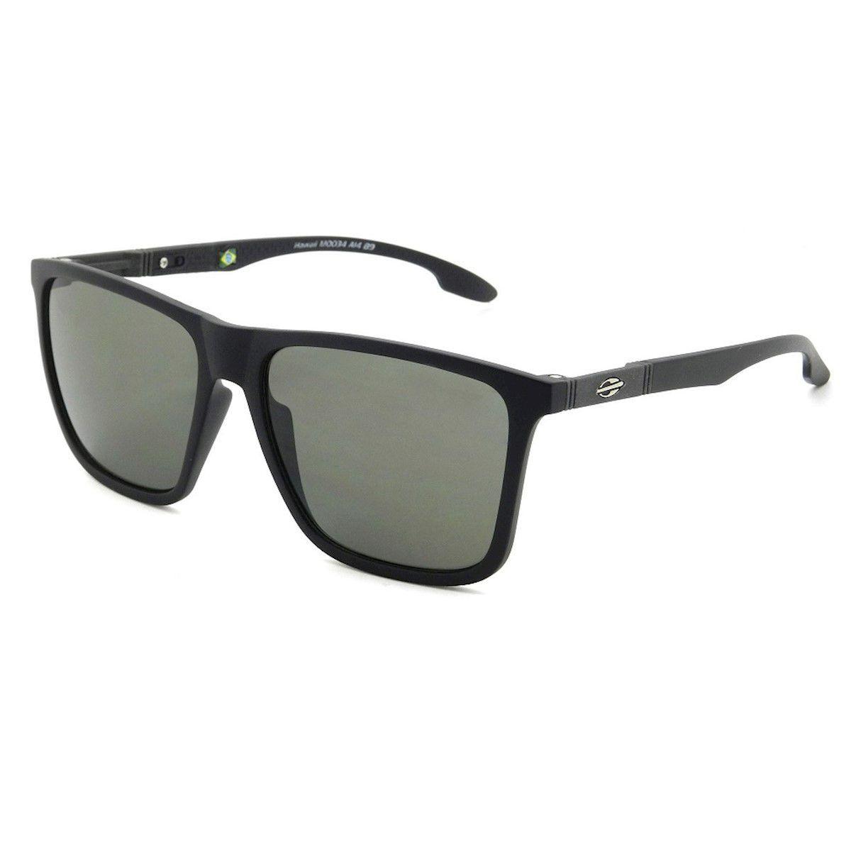 Óculos de Sol Mormaii Hawaii Cinza Fosco