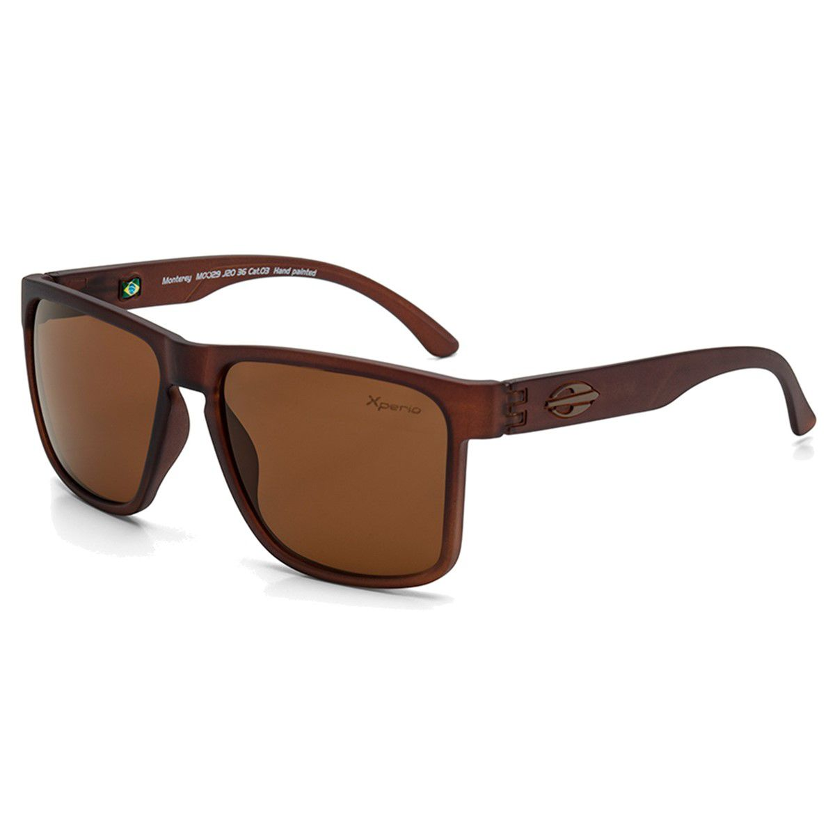 Óculos de Sol Mormaii Monterey Brown Polarizedo