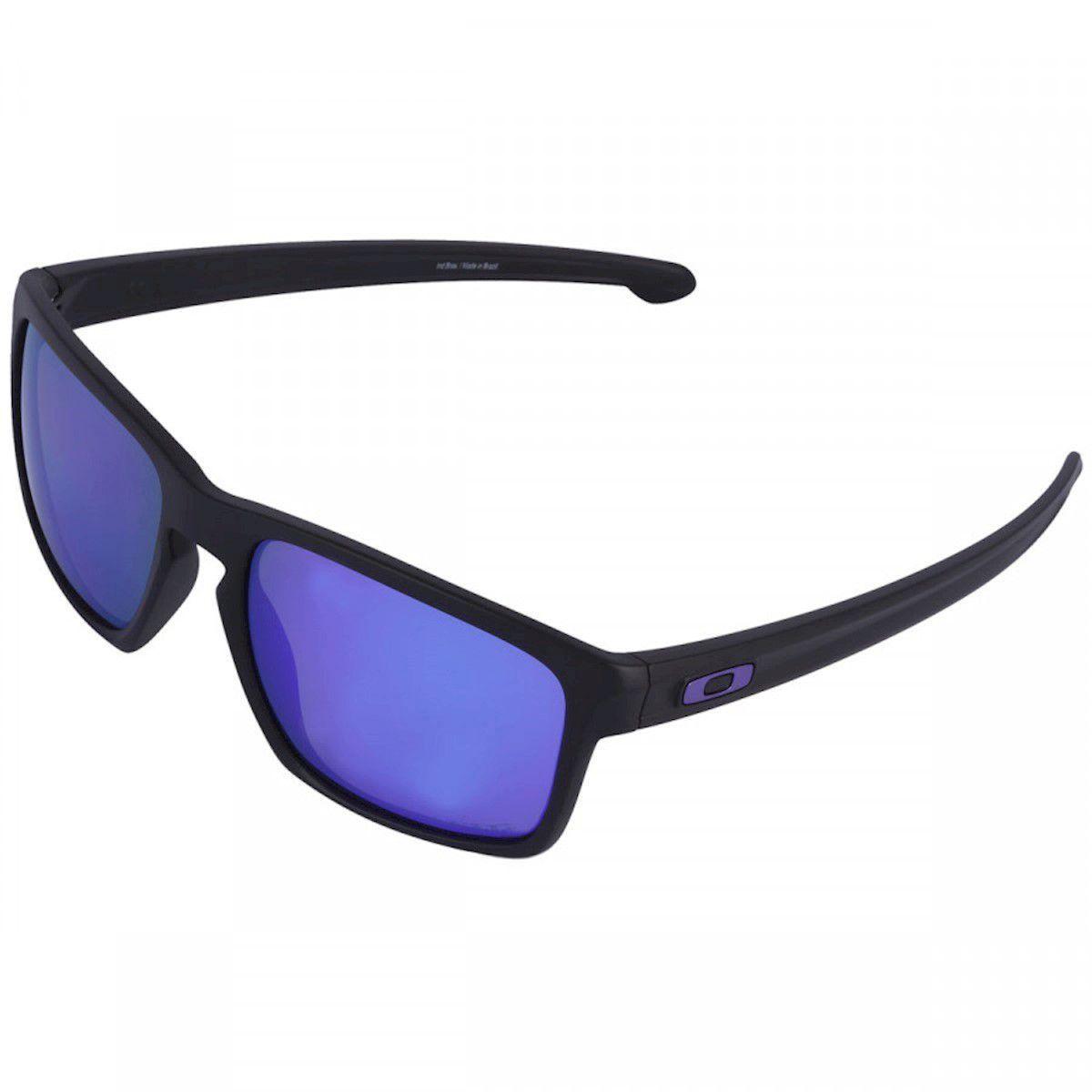 Óculos de Sol Oakley Sliver Iridium Polarizado