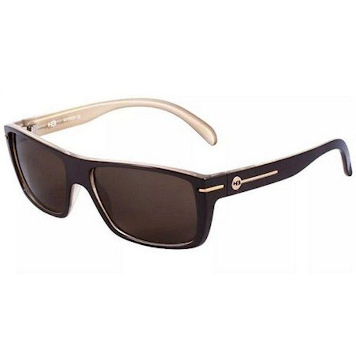 Óculos de Sol Would Matte Black Brown Lenses HB