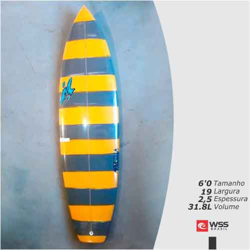 Prancha de Surf Marbella The Screw  6'0 Pronta Entrega