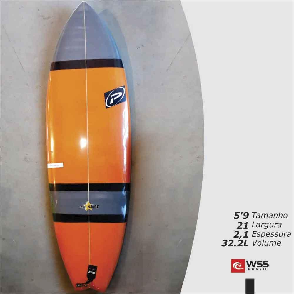 Prancha de Surf Pró-Ilha Pop Star Pronta Entrega 5?9