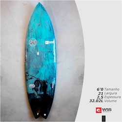 Prancha de Surf WSS The Wild 6'0 Pronta Entrega
