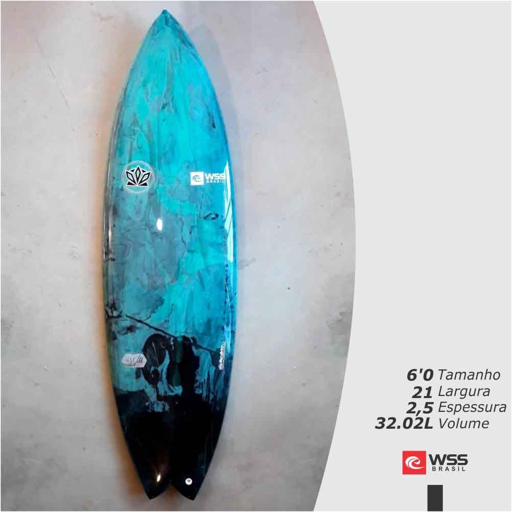 Prancha de Surf WSS The Wild 6'0 Pronta Entrega