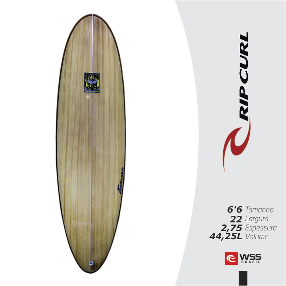 Prancha Rip Curl Heavy Weight 6'6'' Pronta Entrega