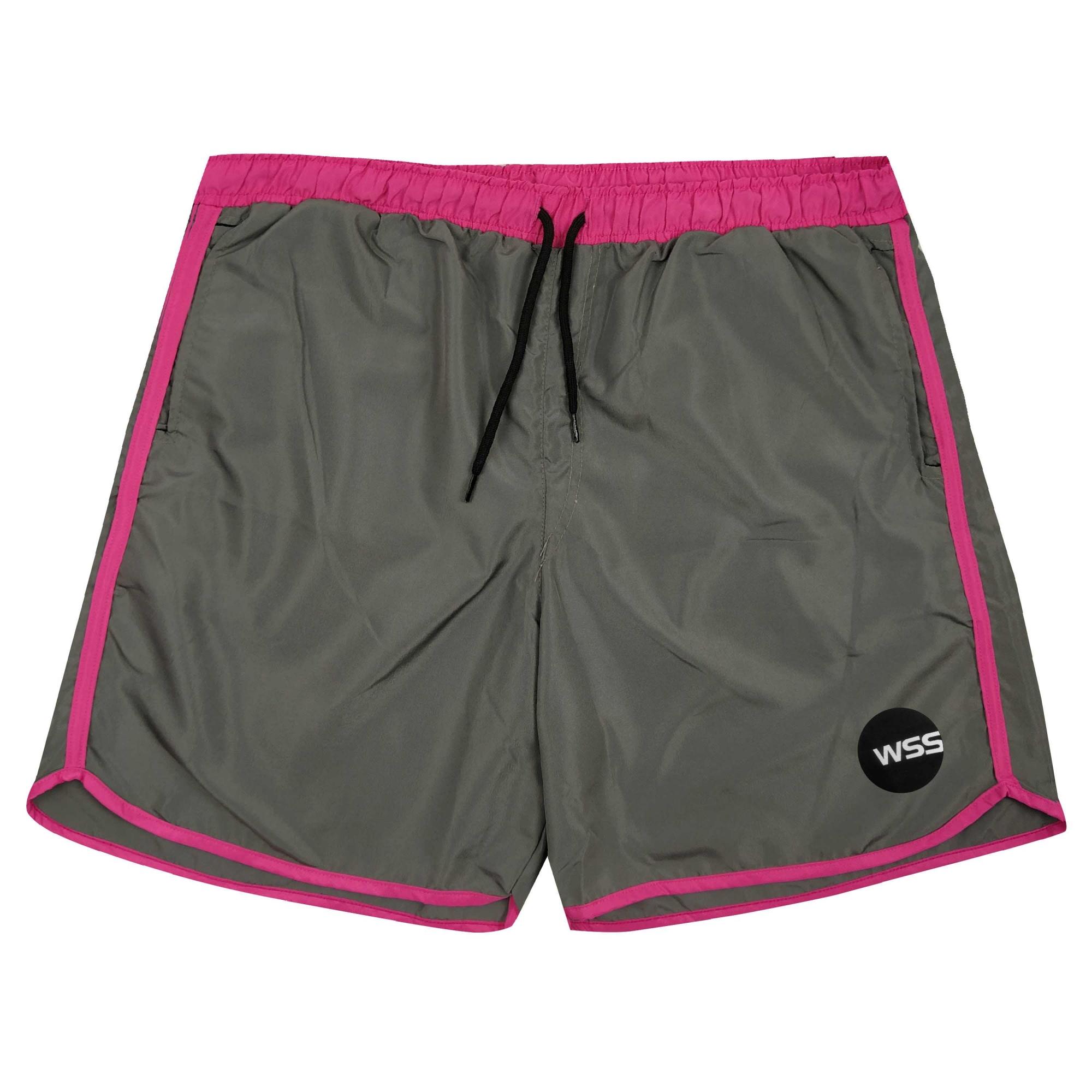 Shorts Masculino Moon WSS Colors Tactel DarkPink