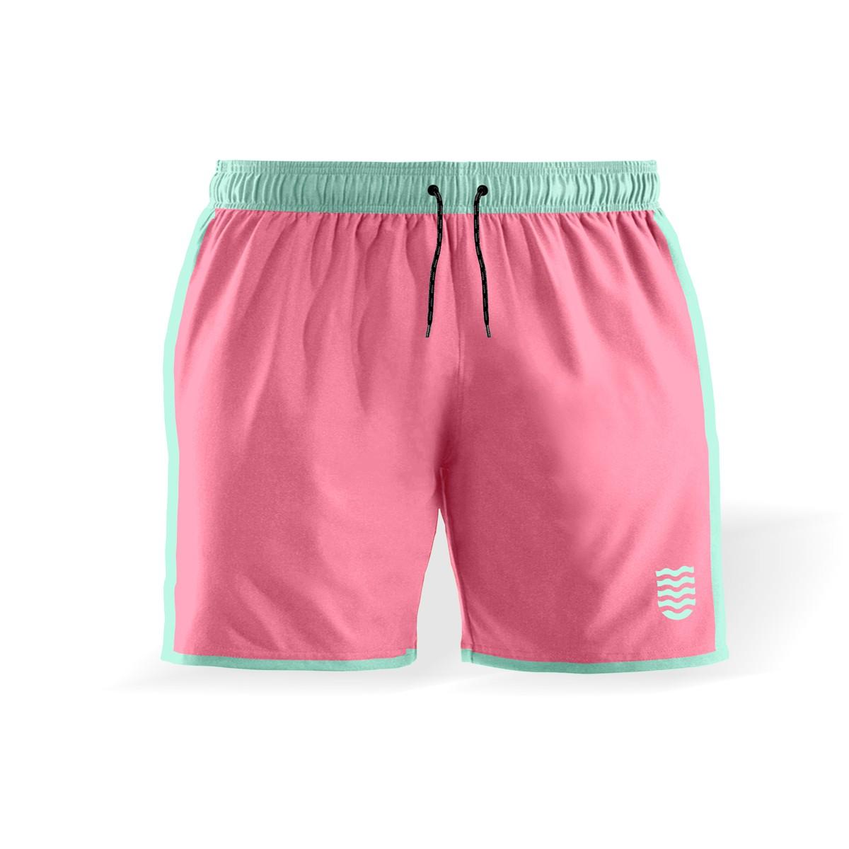 Shorts Masculino Wss Colors Chiclete