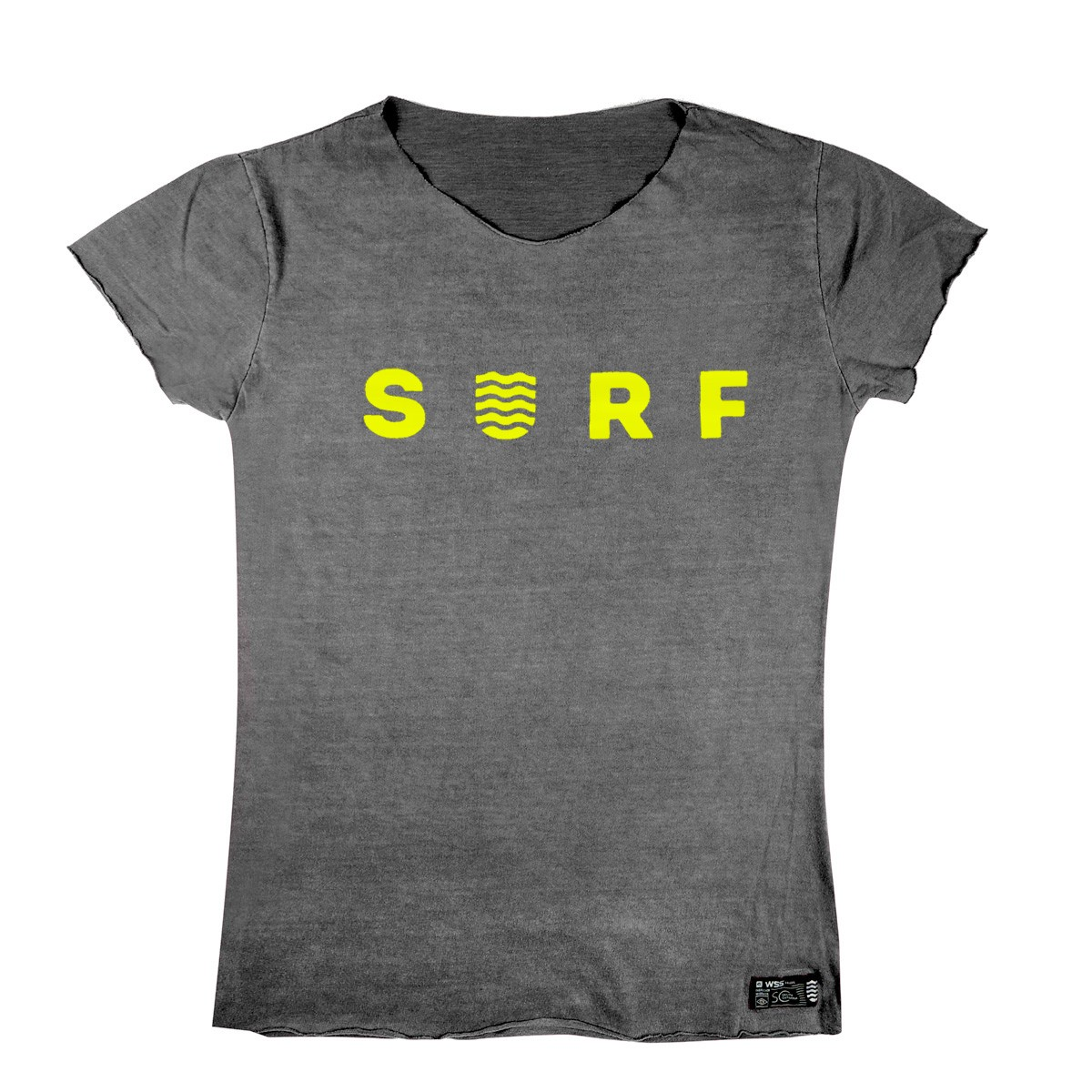 T-shirt WSS Estonada Yellow Neon