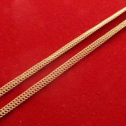 Colar Ouro Golden Rope Grosso 18K