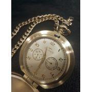 Relógio de Bolso Technos VD77AC/4X Classic HERITAGE DOURADO