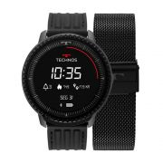 Smartwatch Technos Connect ID Preto L5AA/1P