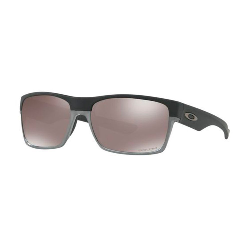 Óculos de Sol Oakley Twoface OO9189 38 Acetato Preto / Prata Polarizado