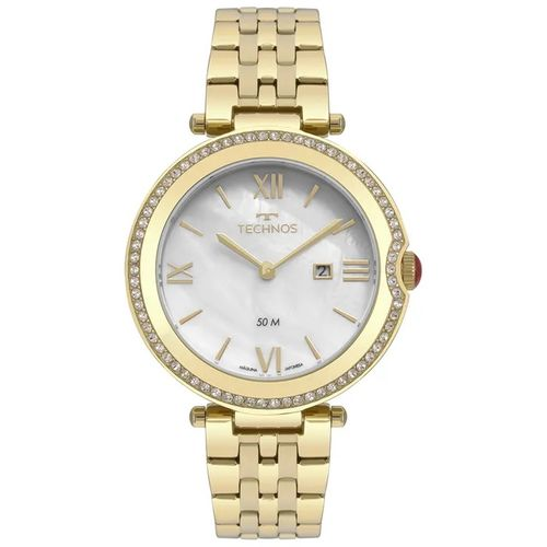 Relógio Technos Feminino ST Moritz Dourado GL15AT/4B