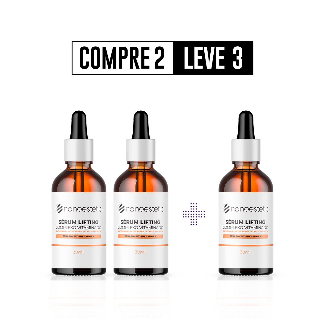 Compre 2 e Leve 3 - Sérum lifting - 3 meses de tratamento