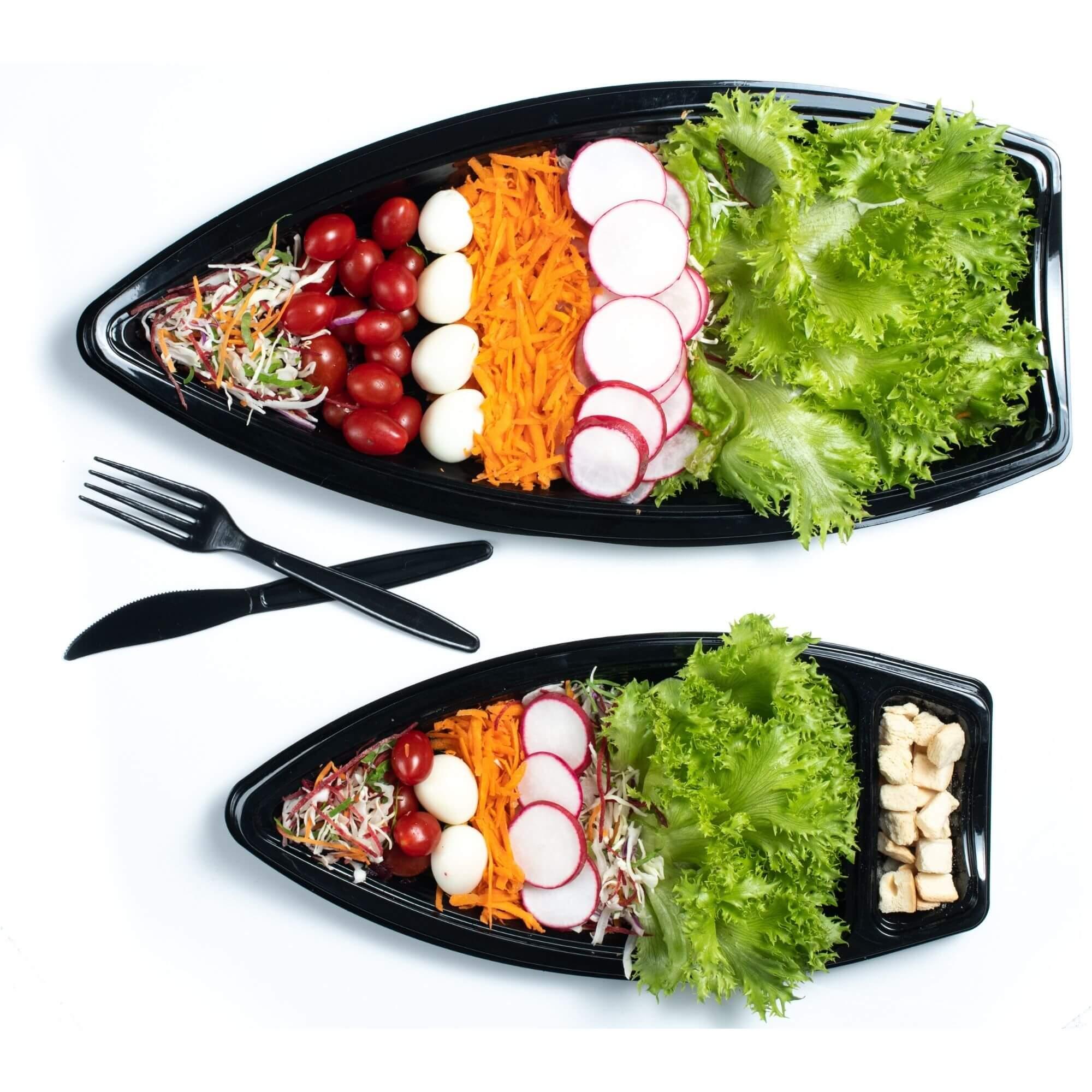 Embalagem barca comida japonesa - Galvanotek GO930 GO935 GO933