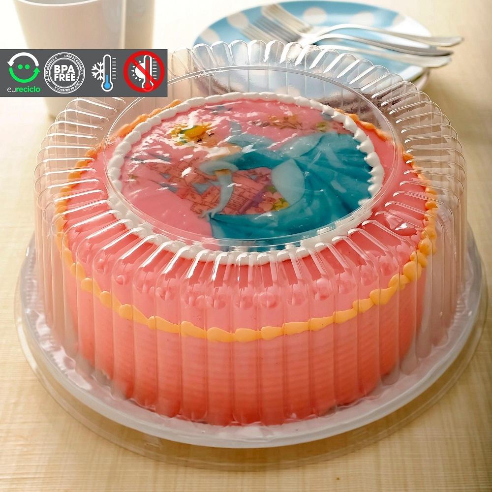 Embalagem bolo caseirinho forma aro 20 até 1,5kg - G50 Galvanotek