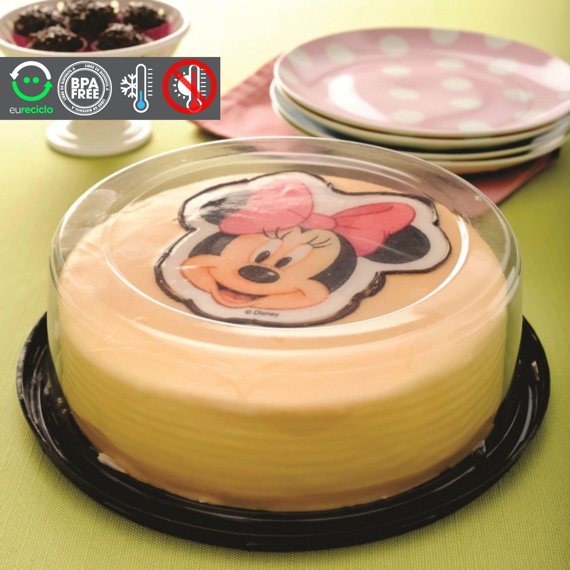 Embalagem bolo confeitado de 1kg forma 17 - G37 Galvanotek