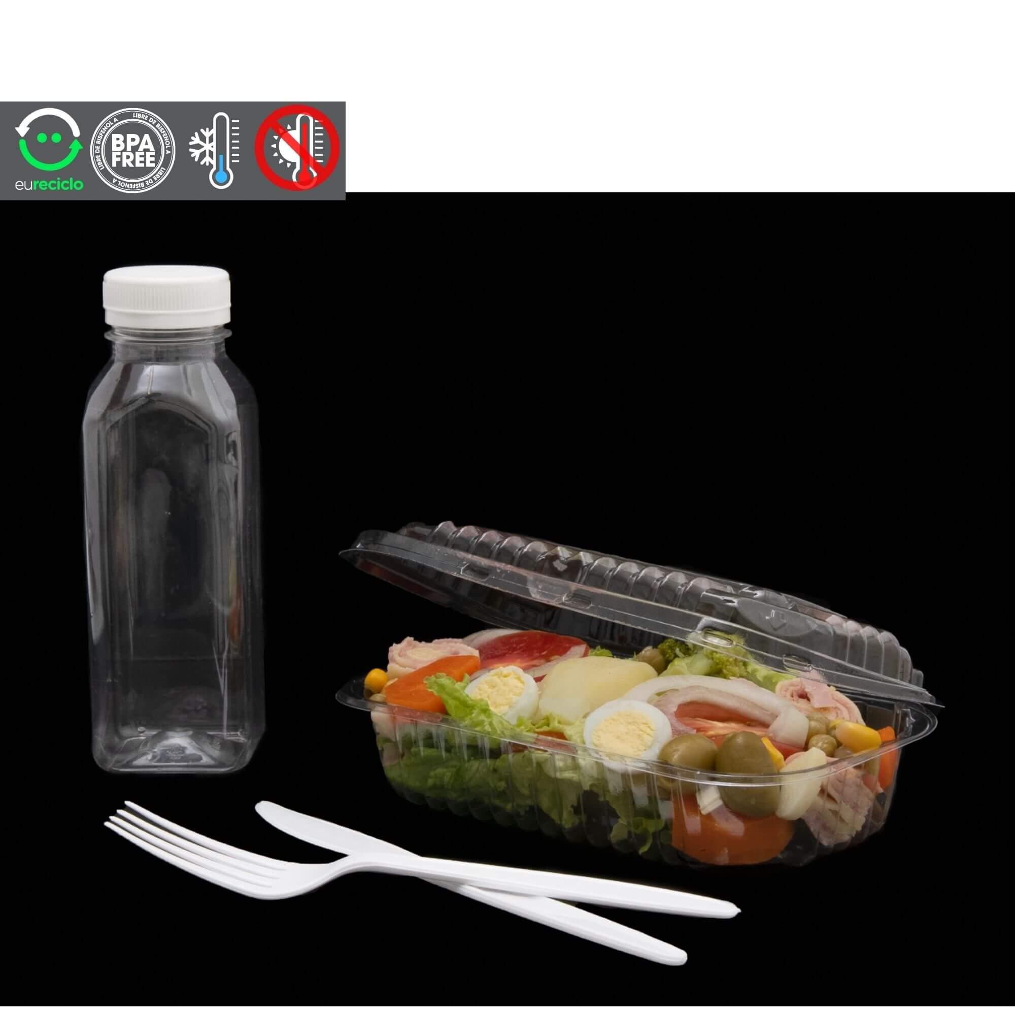 Embalagem econômica para salada 100un. - Galvanotek GA08 GA 08