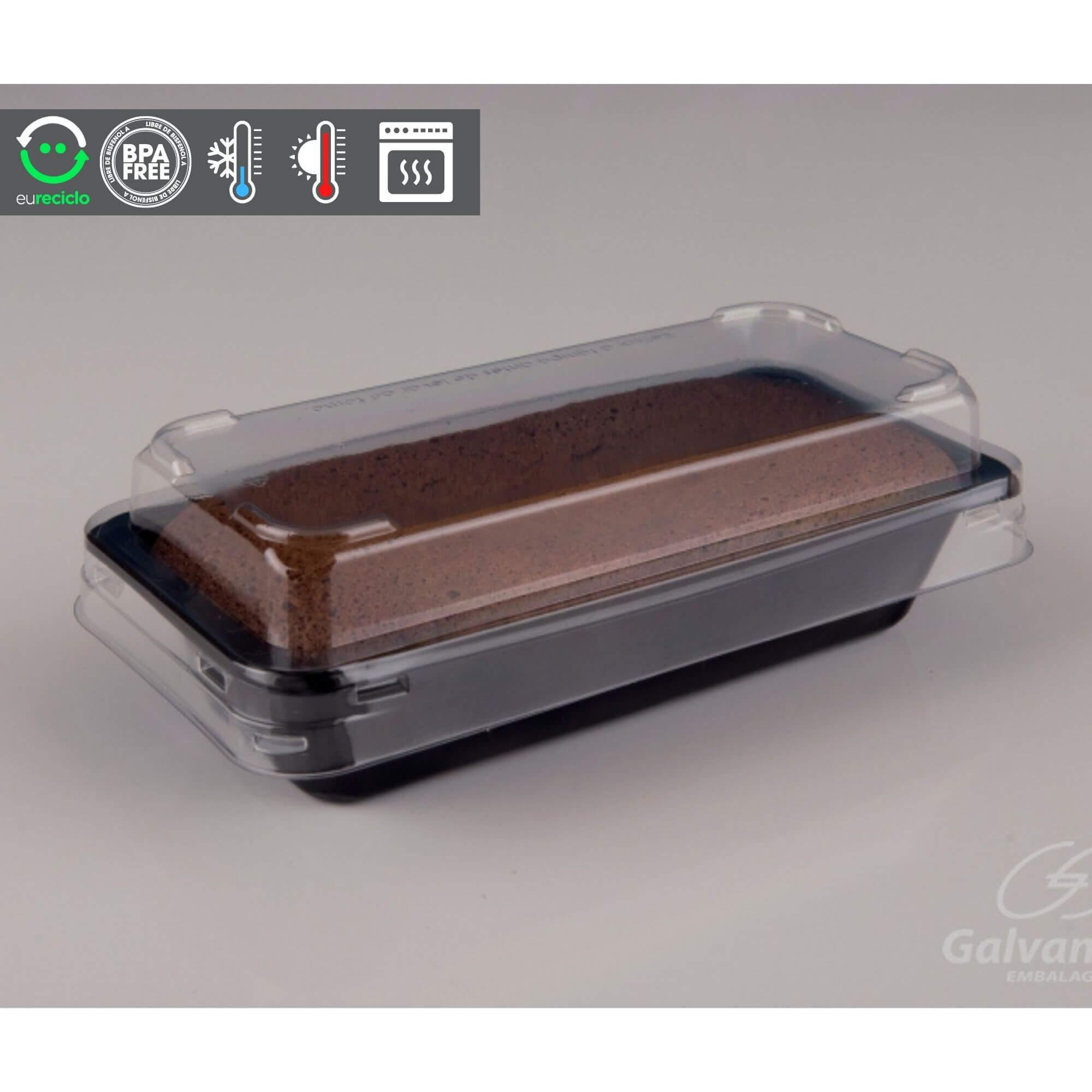 Embalagem forneável para bolo Inglês forno a gás - Galvanotek G220