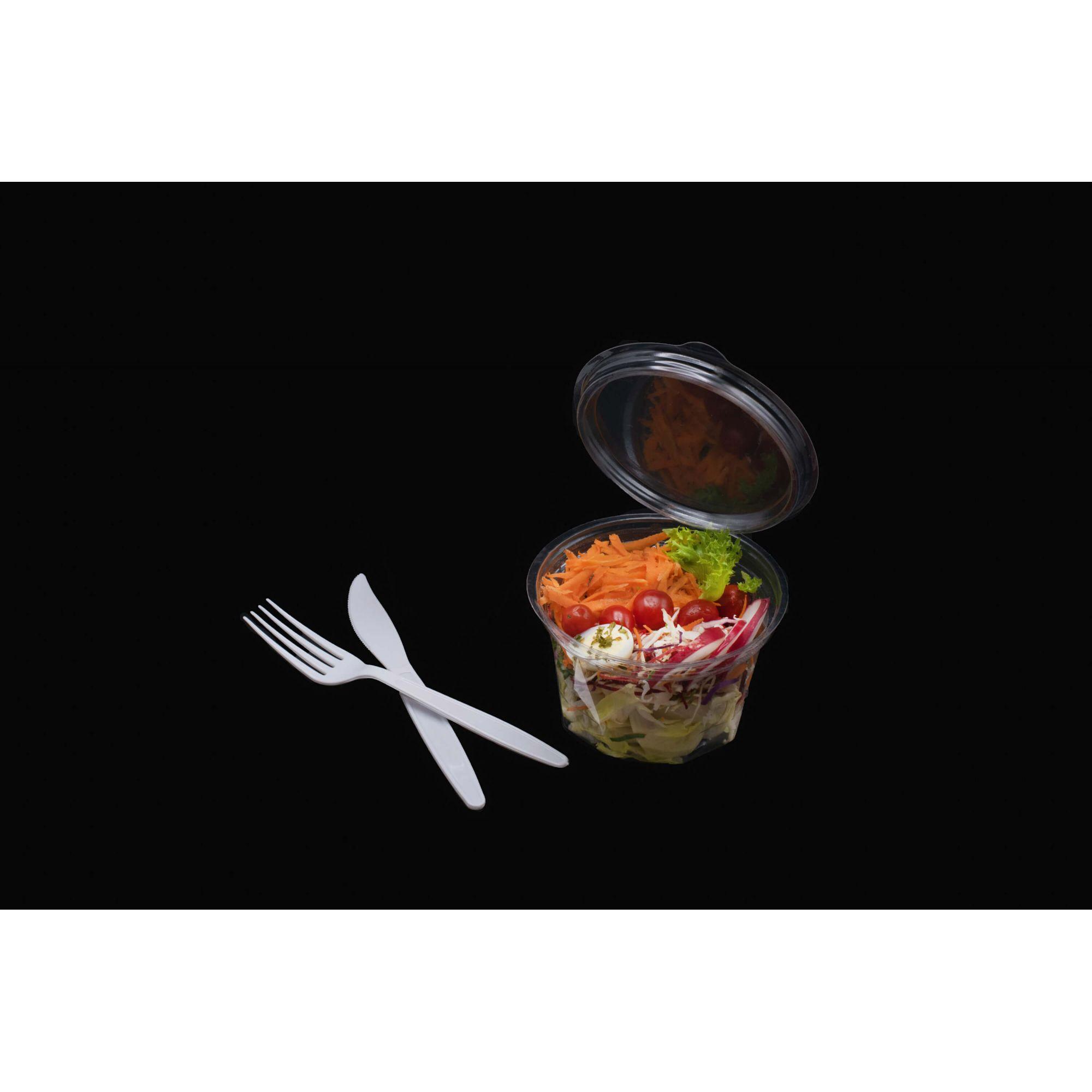 Embalagem hermética para salada 200un. - Galvanotek G742D G750D