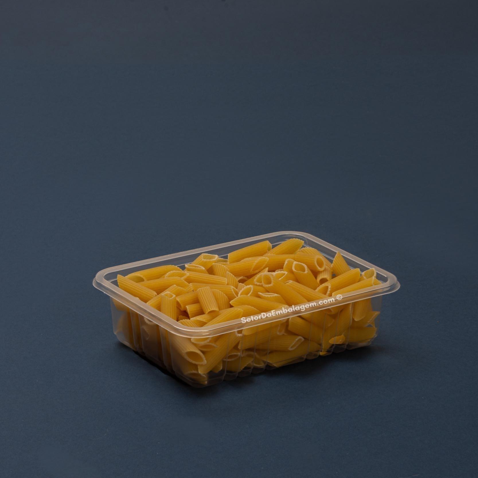Embalagem marmita fit 500mL sem divisória-Galvanotek G306