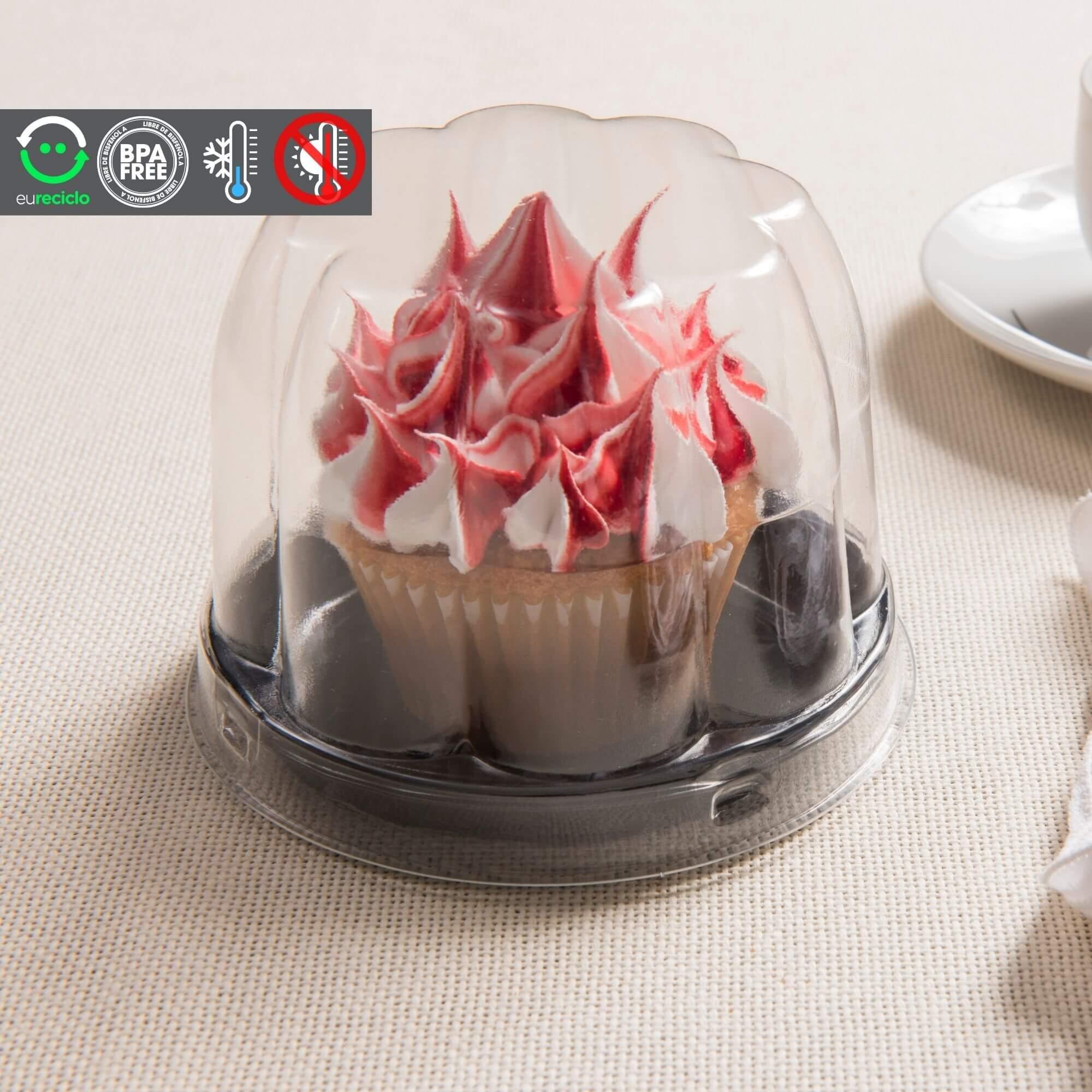 Embalagem para cupcake e minibolo - Galvanotek G690