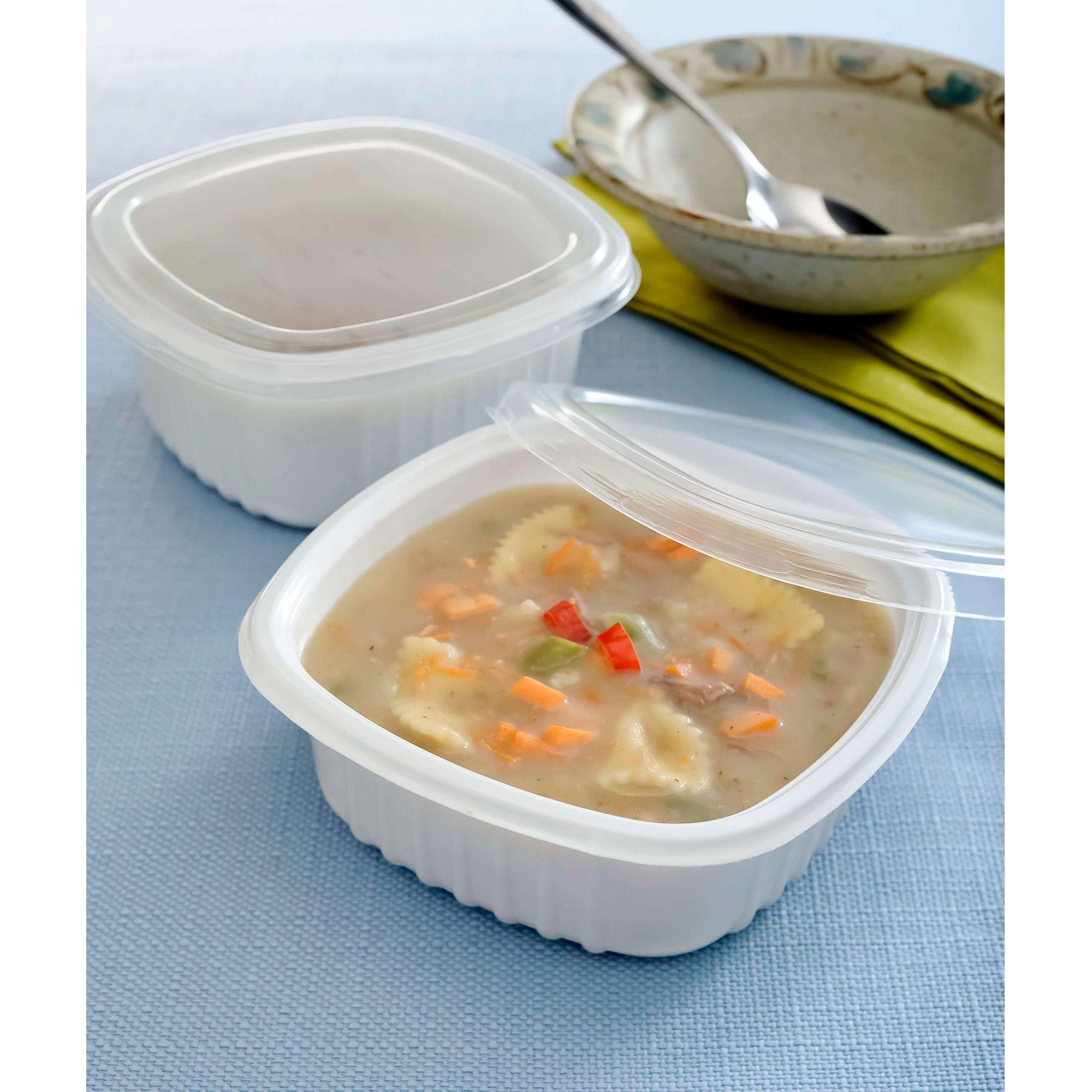 Embalagem para sopa e caldo freezer e microondas 300un. - Galvanotek G309 e G308