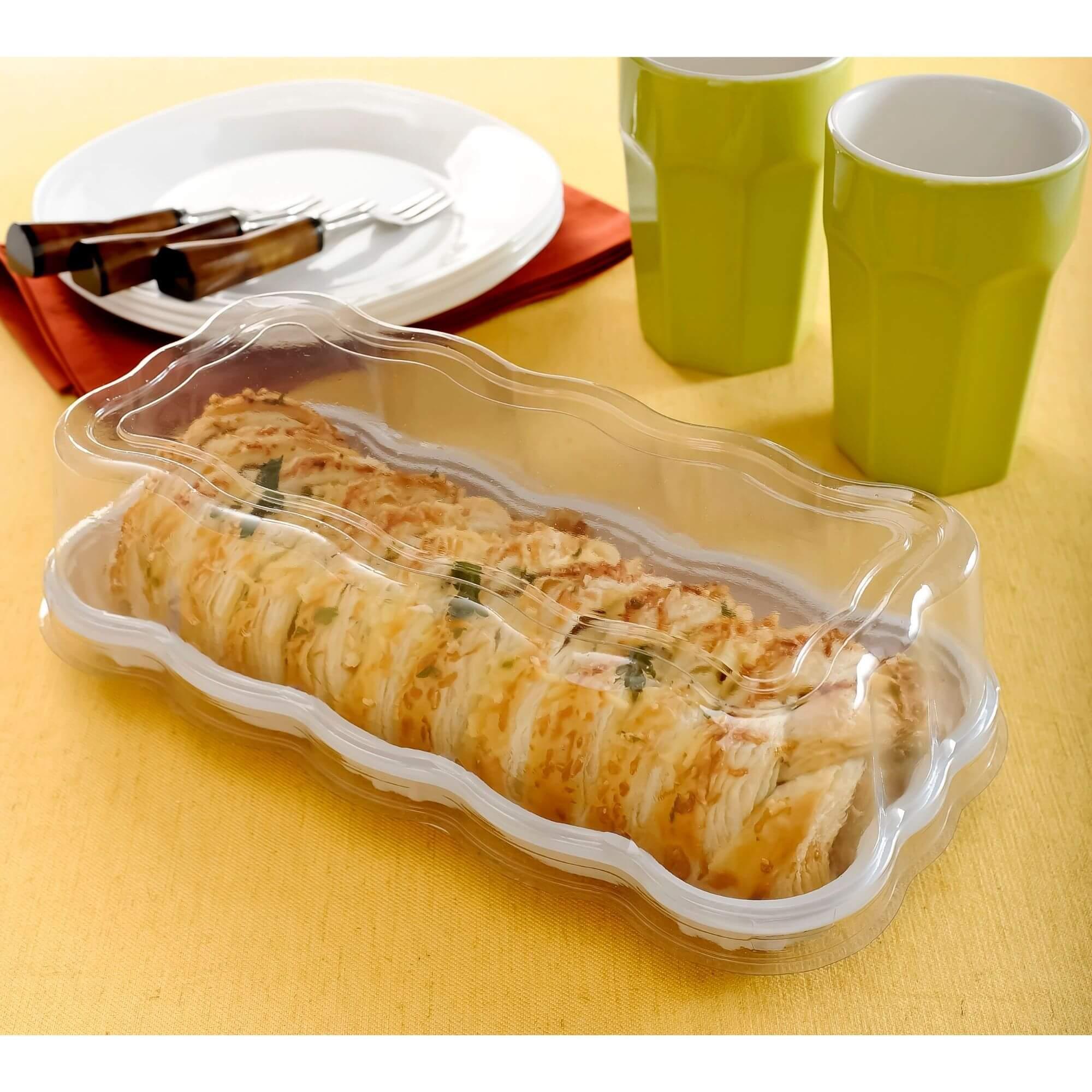Embalagem rocambole e fatia de torta Catarina 500g - Galvanotek G61
