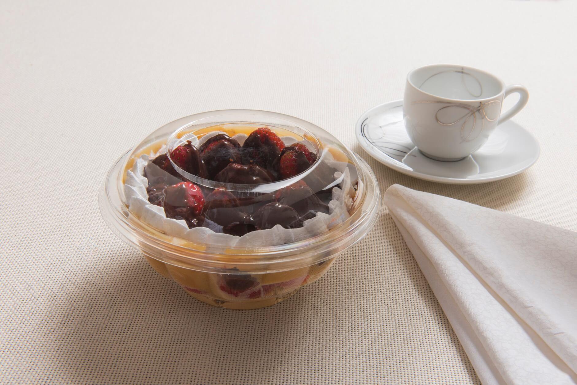 Embalagem salada individual e doces - 500mL - Galvanotek G681