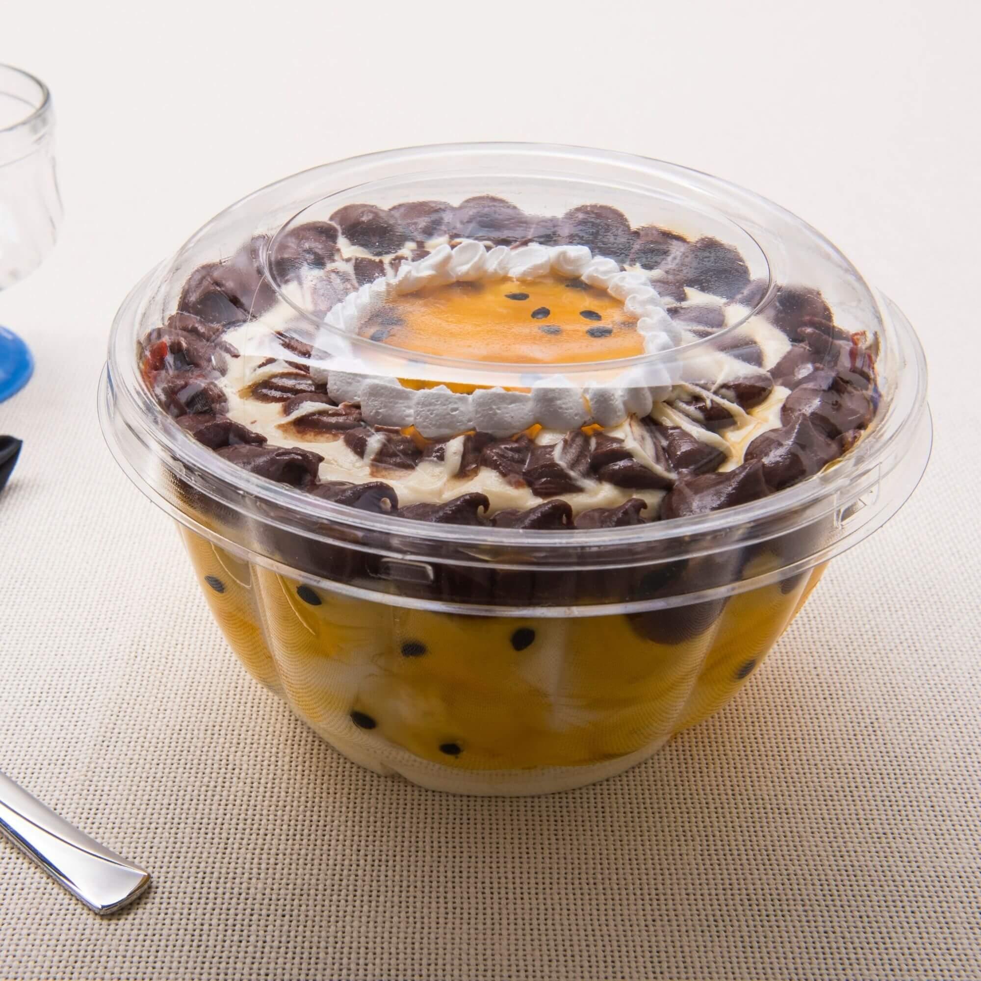 Embalagem salada multiporção 1400mL 100un. - Galvanotek G683