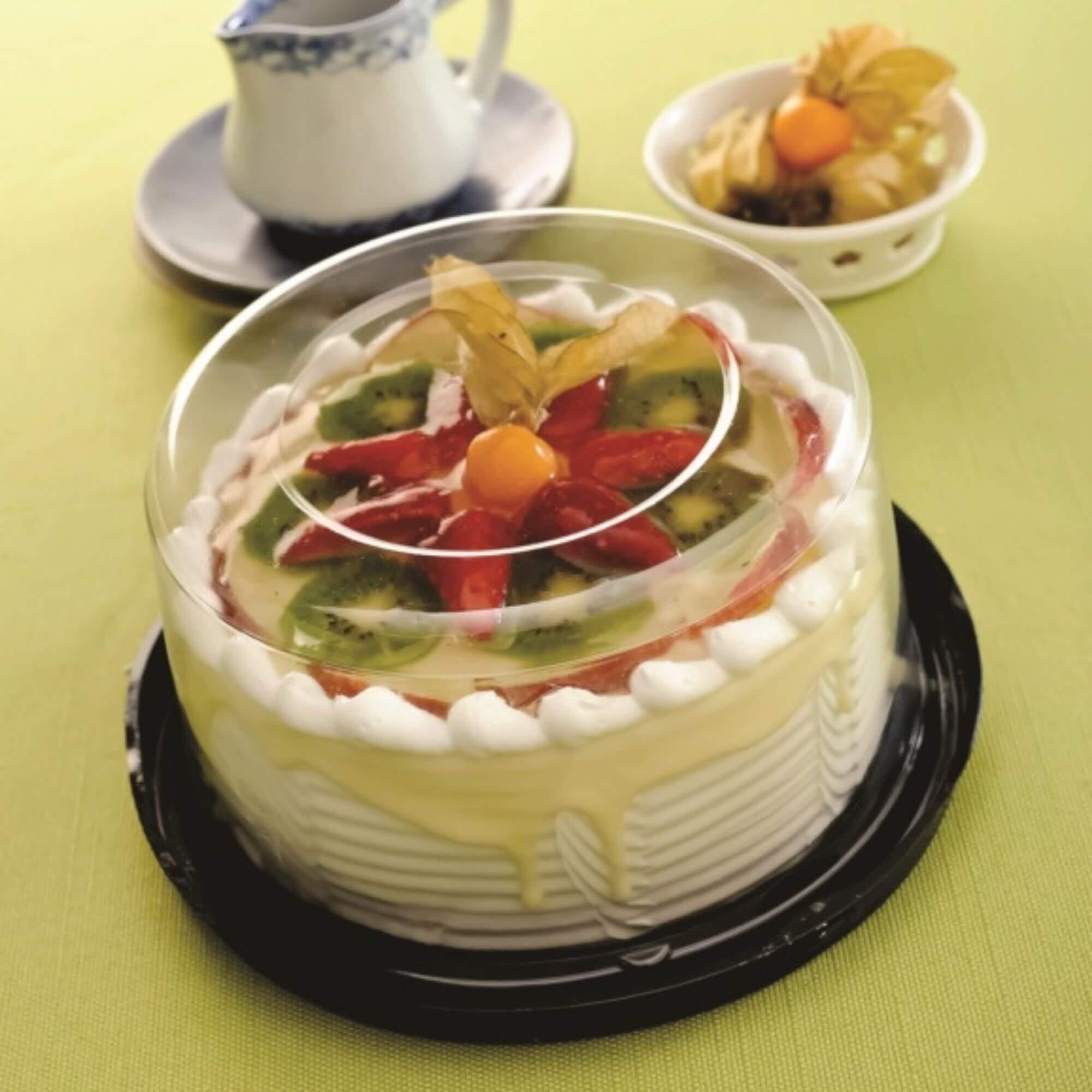 Embalagem para bolo confeitado forma 11 de 500g - G35 Galvanotek