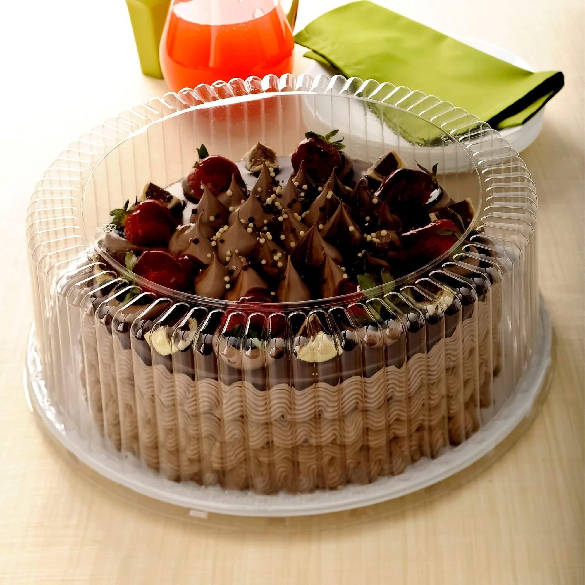 Embalagem bolo caseiro 30un forma aro 30 até 4kg - G80 Galvanotek